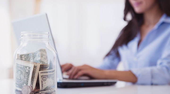 How can you earn money on Internet without a big investment?