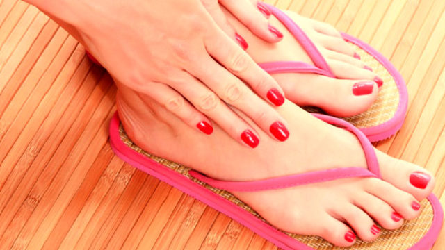 How to Beautifying your hands and feet easily